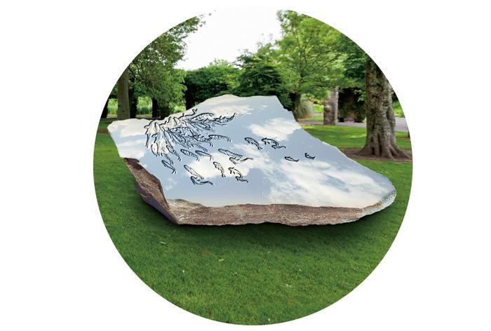 """2017""""人与自然""""——中国•郑州国际雕塑展计划落成雕塑"""